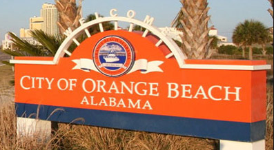 With some areas of Orange Beach suffering power outages overnight Monday, the city has opened the Orange Beach Community Center as a shelter for residents. Photo: City of Orange Beach