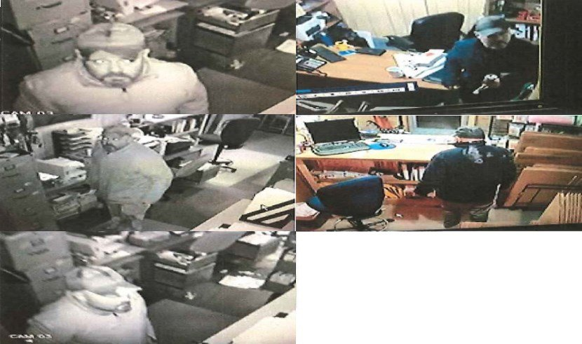 The Foley Police Department is asking for help identifying the person in these images made by security camera during commercial burglaries. (FPD)