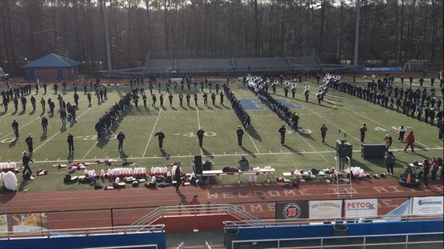 Alabama's Million Dollar Band practicing near Atlanta (FOX10 News)