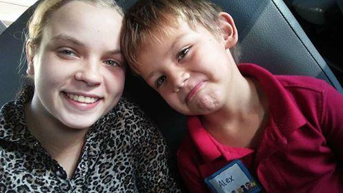 Abigail Dehollander, 20, and her son Alex, 5. (Photo: Kayla Gollotte)