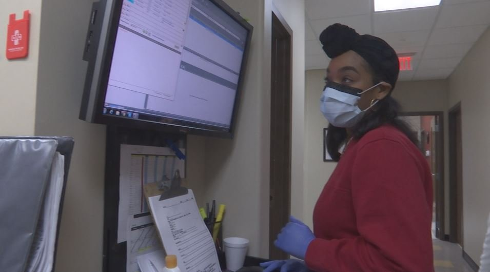 Health clinics across Mobile County have seen an increase of patients this flu season (Photo: Asha Staples, Reporter)