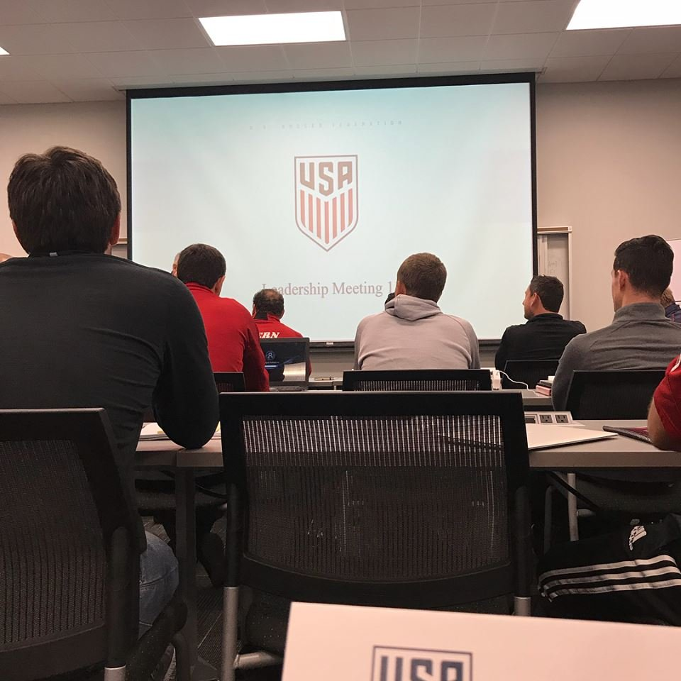 Gerardo Flores, Daphne Strike Soccer Club, spent time learning from U.S. Soccer Federation while in Orlando. (Daphne Strike Soccer Club)