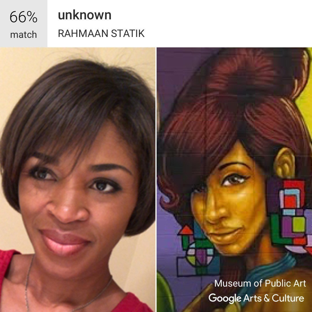 Why you don't have access to Google's art selfies