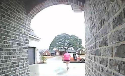 Image from surveillance camera