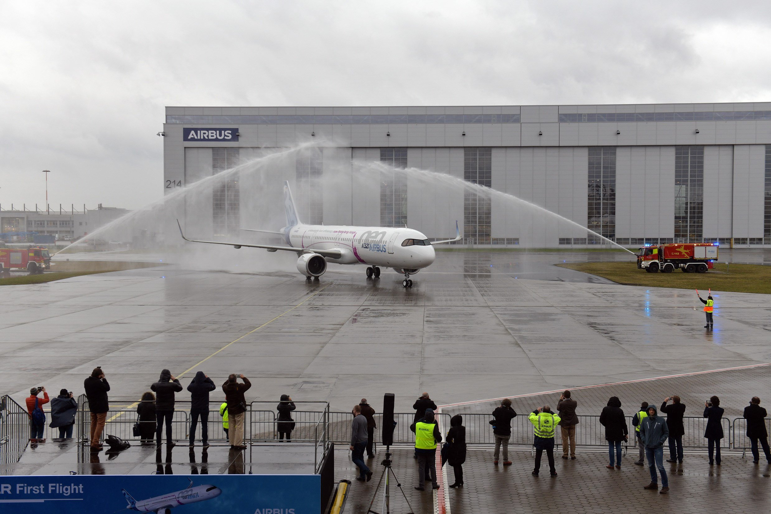 Airbus A321LR Completes Maiden Flight