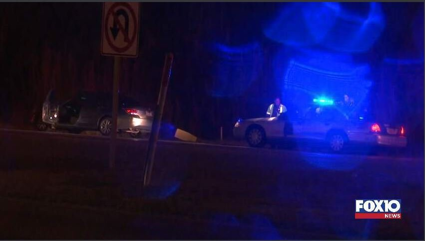 Police chase ends near Bankhead Tunnel (FOX10 News)