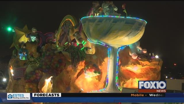 Mardi Gras attendance down. Businesses hoping to end on strong note heading into Fat Tuesday. Source: FOX 10 News