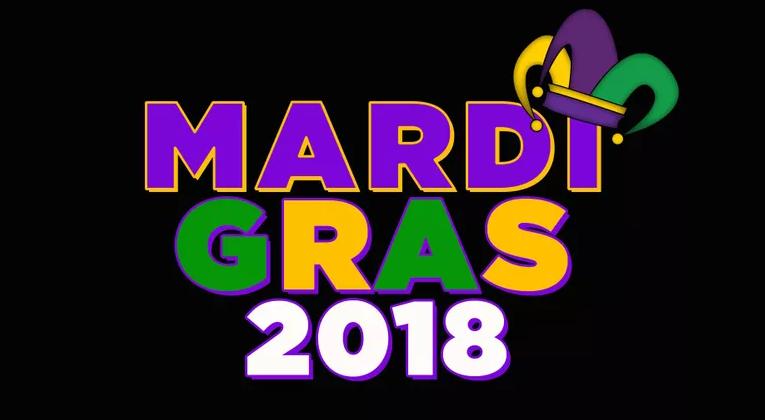 Mardi Gras 2018.