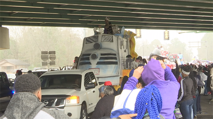 Prichard Mardi Gras Association parade on February 12, 2018. (FOX10 News)