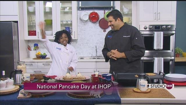 Celebrate National Pancake Day with free short stack from IHOP