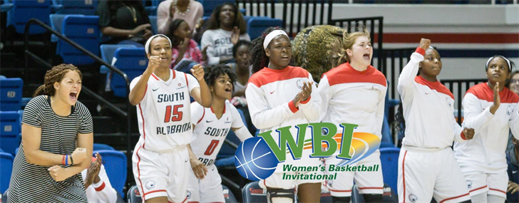 The University of South Alabama women's basketball team has accepted a bid to play in the Women's Basketball Invitational on Monday. Photo: usajaguars.com