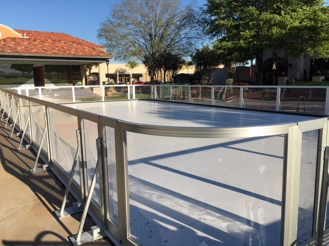 New ice skating rink at Eastern Shore Centre. Source: FOX 10 News