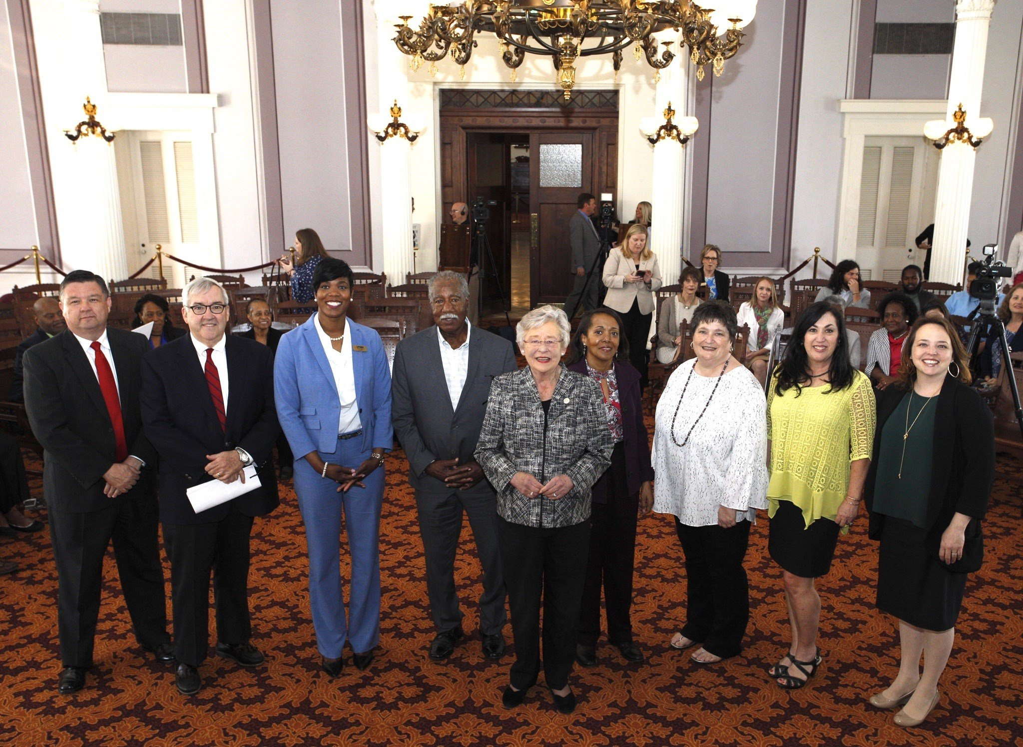 Governor Kay Ivey on Wednesday awarded a total of $300,000 in grants to provide primarily low-income persons and senior citizens with improved access to healthy and fresh foods.Photo: Governor's office.