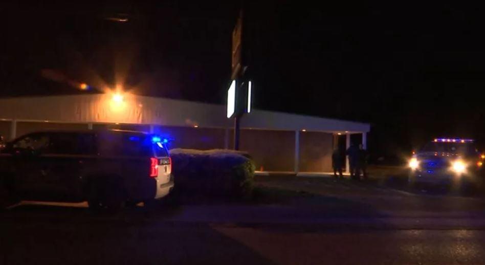 Grand Hall shooting scene (FOX10 News)