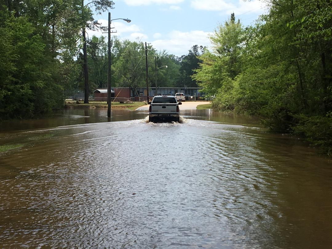 Flooding in Clarke County, Alabama. (FOX10 News)