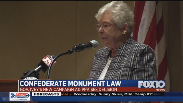 Alabama Governor Comes Out Swinging For Confederate Memorials