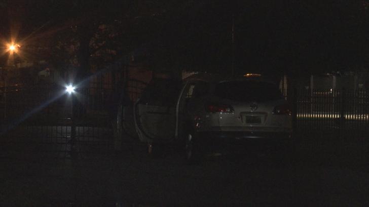 Shooting scene on I-65 Service Road in Mobile (FOX10 News)
