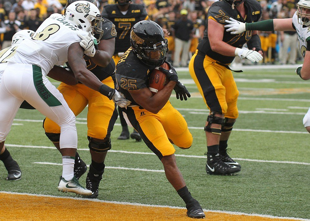 Ito Smith in action for Southern Miss (Photo: USM)