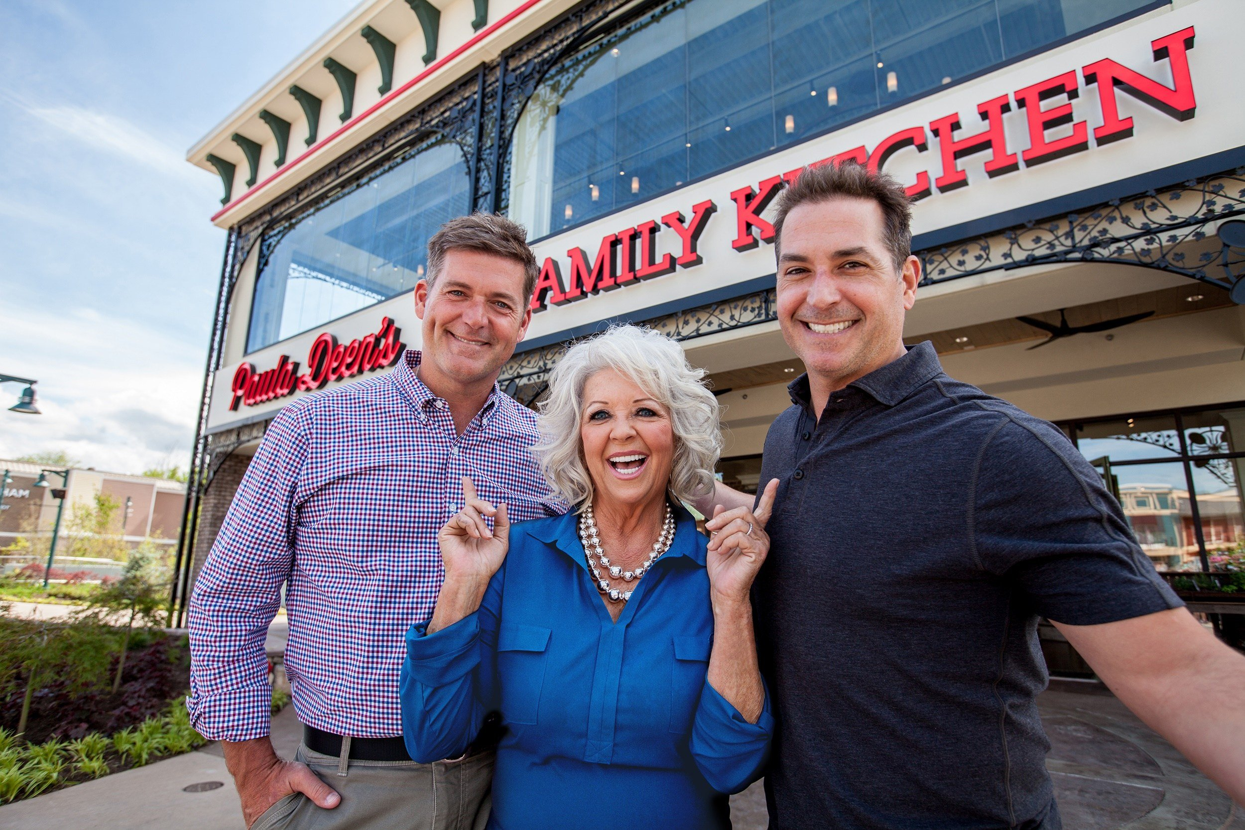Paula Deen and the Poarch Band of Creek Indians announced plans to open Paula Deen's Family Kitchen at OWA in Foley.  Photo:OWA