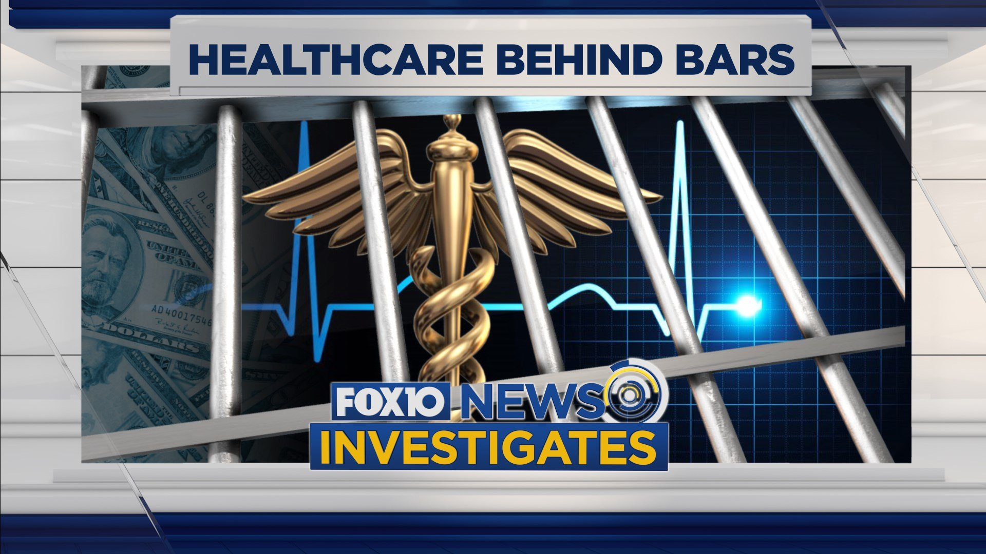 FOX10 News Investigates: Healthcare Behind Bars. Photo: FOX10 News.