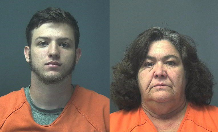 Matthew Hutchins and Lisa Odom (Photo: East Brewton Police)