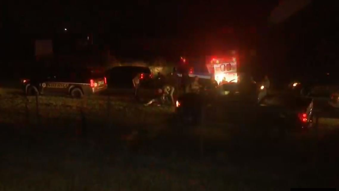 Daphne Police chased a vehicle to McDonald Road in Mobile County (FOX10 News)