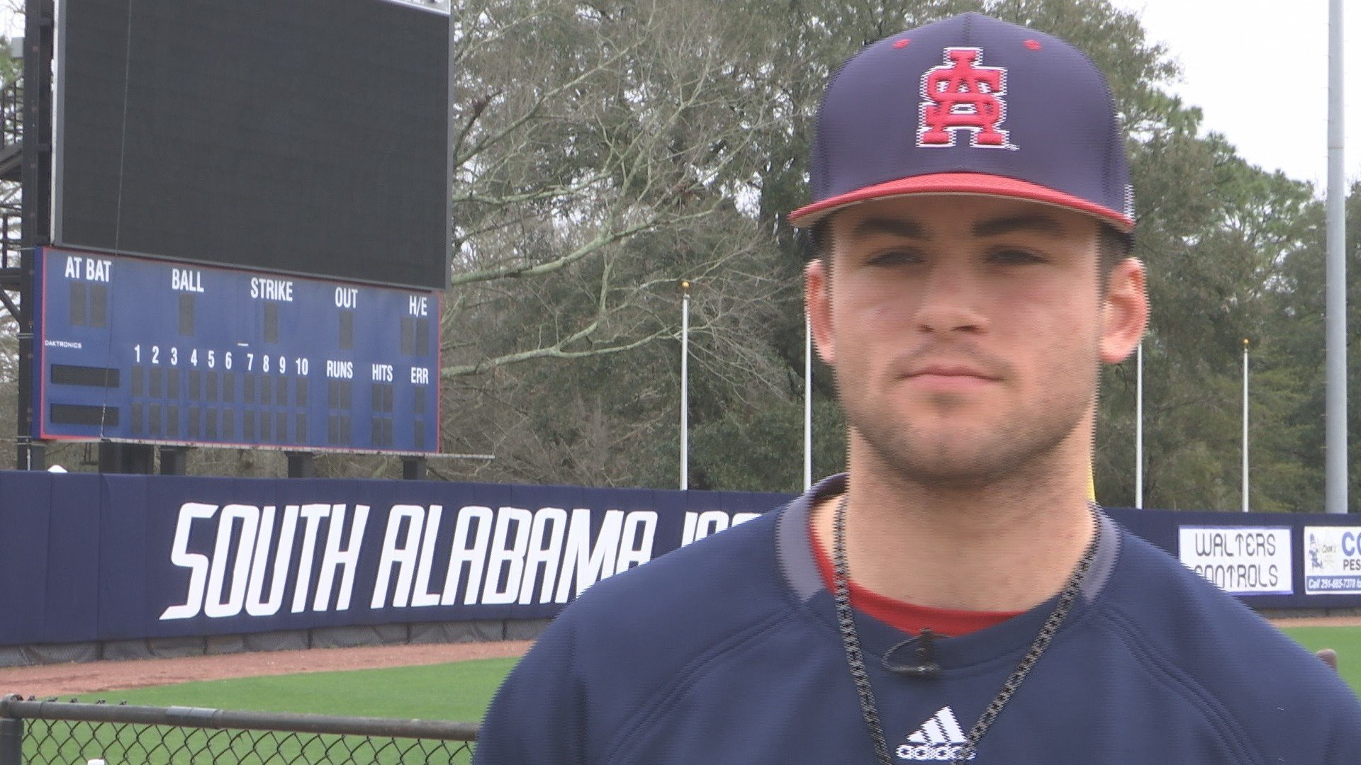 South Alabama's Travis Swaggerty (FOX10 News)