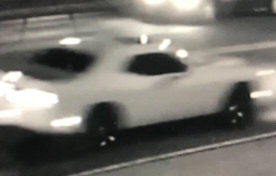 White Dodge Challenger involved in a deadly hit and run in Pensacola (PPD)