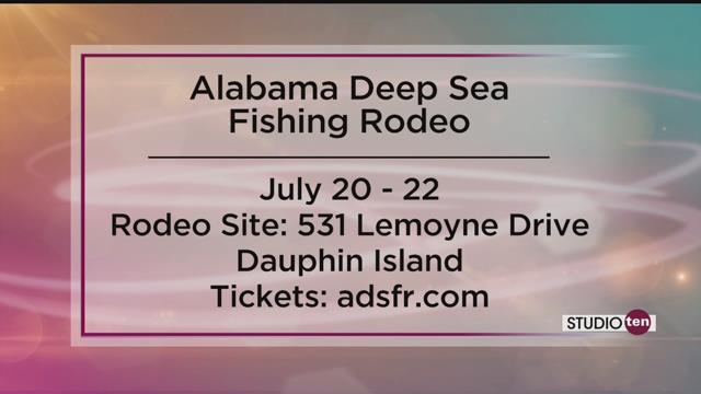 Alabama deep sea fishing rodeo set for july 20 22 fox10 for Deep sea fishing mobile al