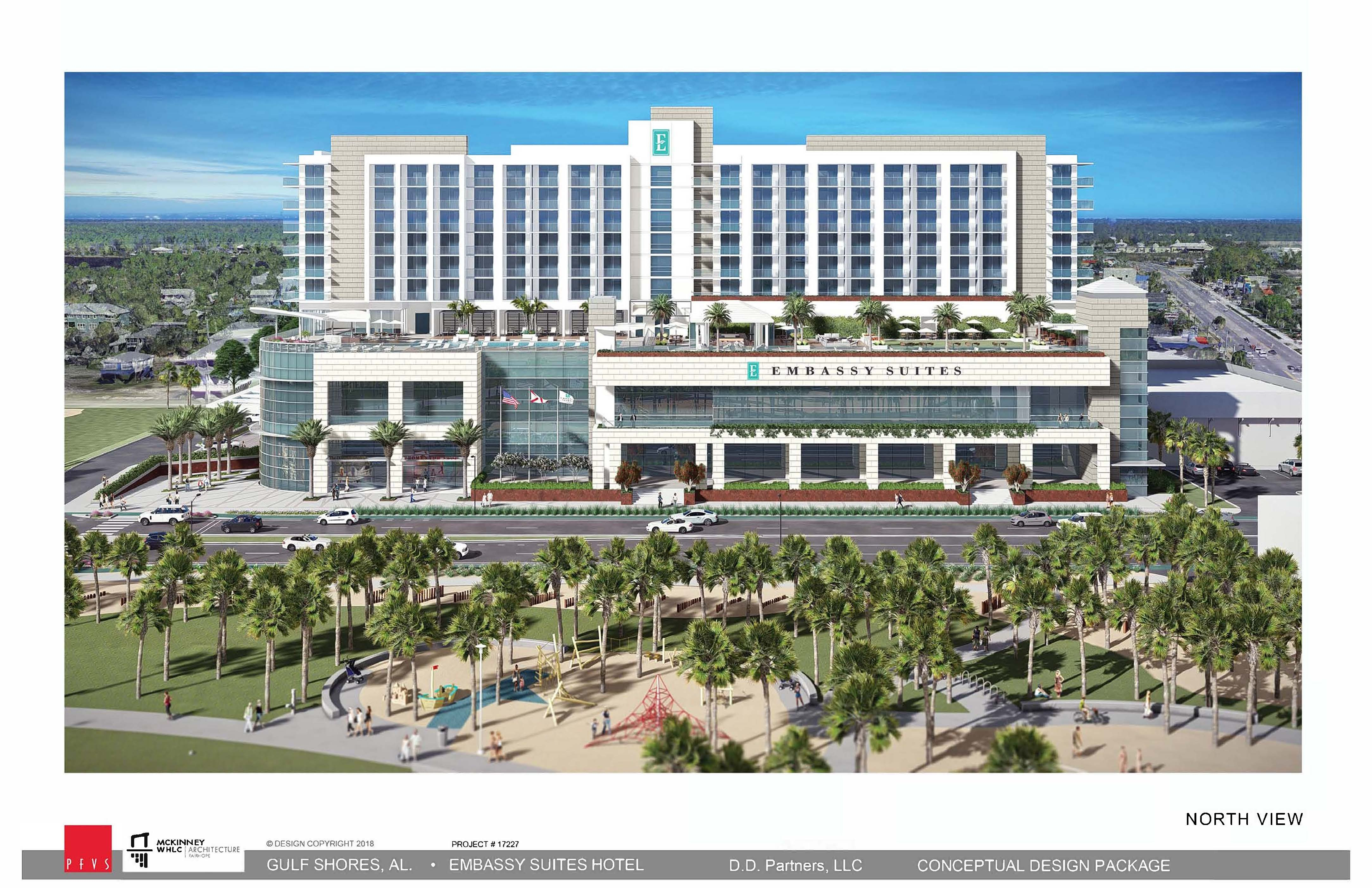 Embassy Suites hotel to anchor $85 million mixed-use development in Gulf Shores. Photo: City of Gulf Shores