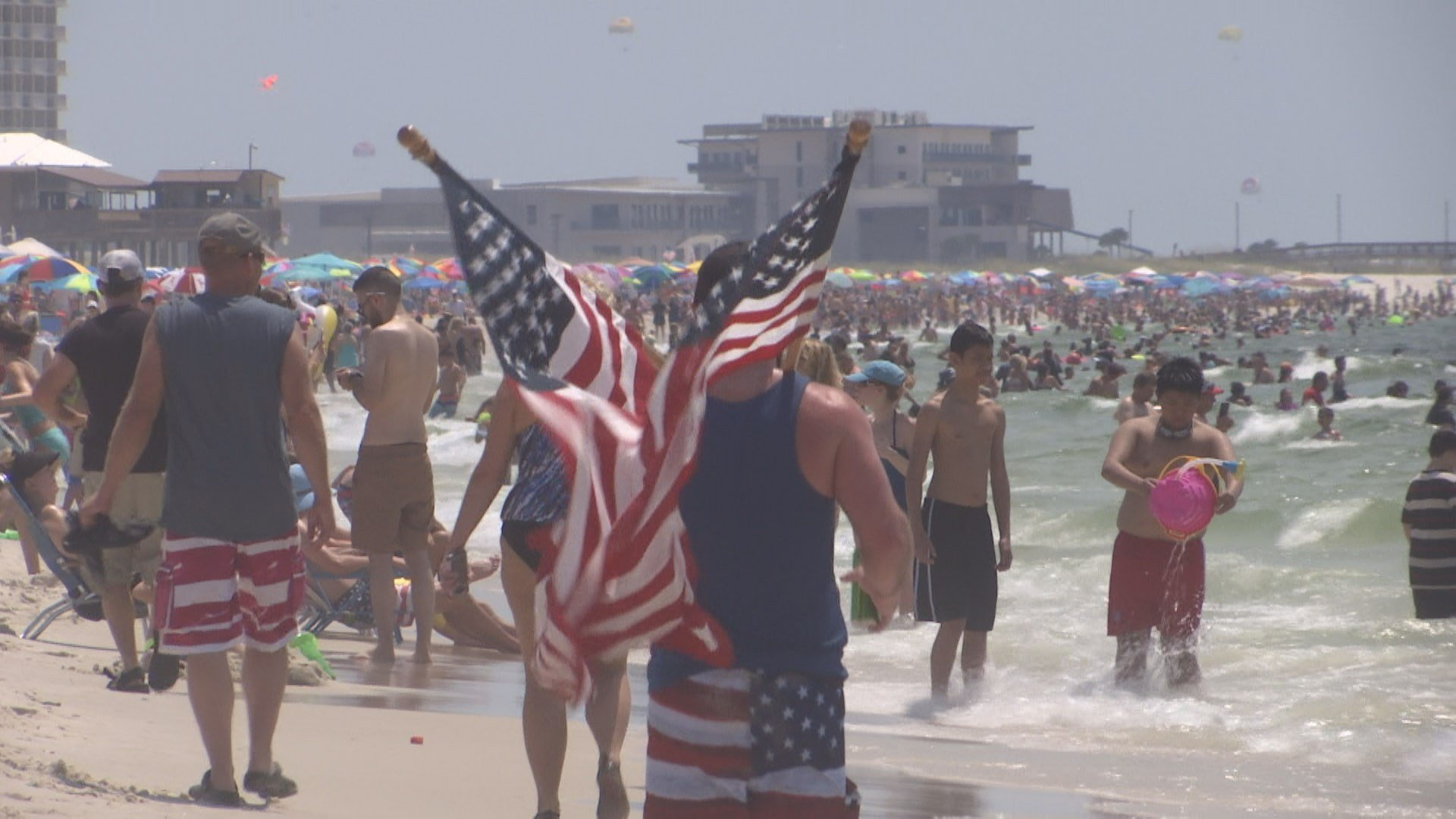 Welcome World League Of Beauty And Fashion Official Web: Alabama Beaches Welcome Huge 4th Of July Crowds