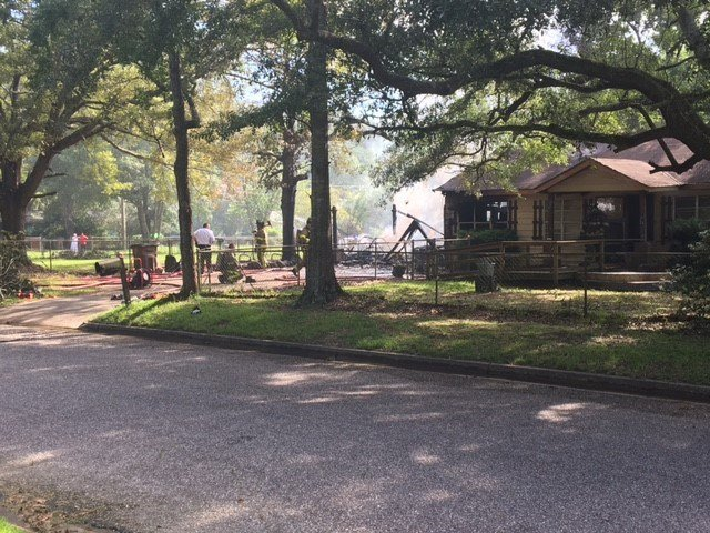 One killed in house fire on Brill Circle in Mobile. July 5, 2018. (FOX10 News)