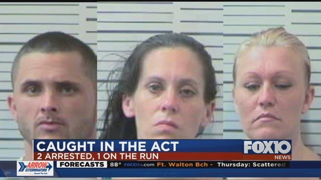 Suspects: Brandon English, Althea Collier, Kasia White. Source: MPD