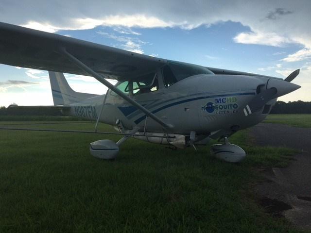 The MCHD's Cessna 182Q. Photo: FOX10 News Reporter Alexa Knowles.