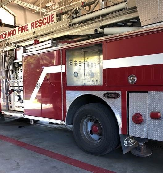 A Prichard Fire Department truck allegedly in need of repairs. (WALA)