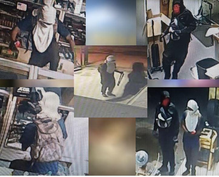 Smash and grab at Pine City Gun & Pawn in Jackson, AL. Suspects steal at least 15 guns. Source: Pine City Gun & Pawn