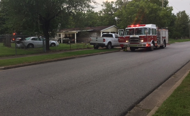 It happened at 2508 Muriel Avenue which is right across from Mount Hebron Ministries.Photo: Kendra Turley, FOX10 News