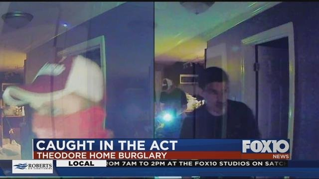 Suspects in Theodore home burglary. Source: Homeowner