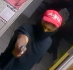 This man shot three people during a robbery at a gas station in Mobile. (MPD)