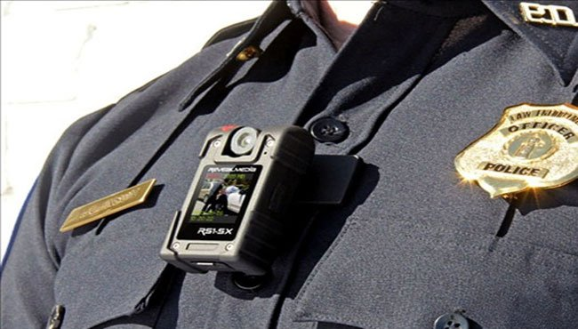 An example of a body camera worn by an officer. Photo: U.S. Department of Justice/MGN