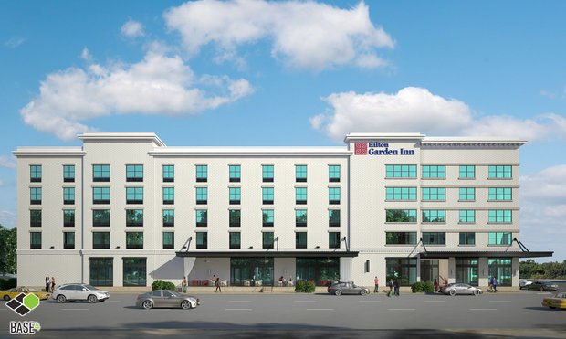 Developer asks for trust on design of downtown hotel Hilton garden inn downtown mobile al