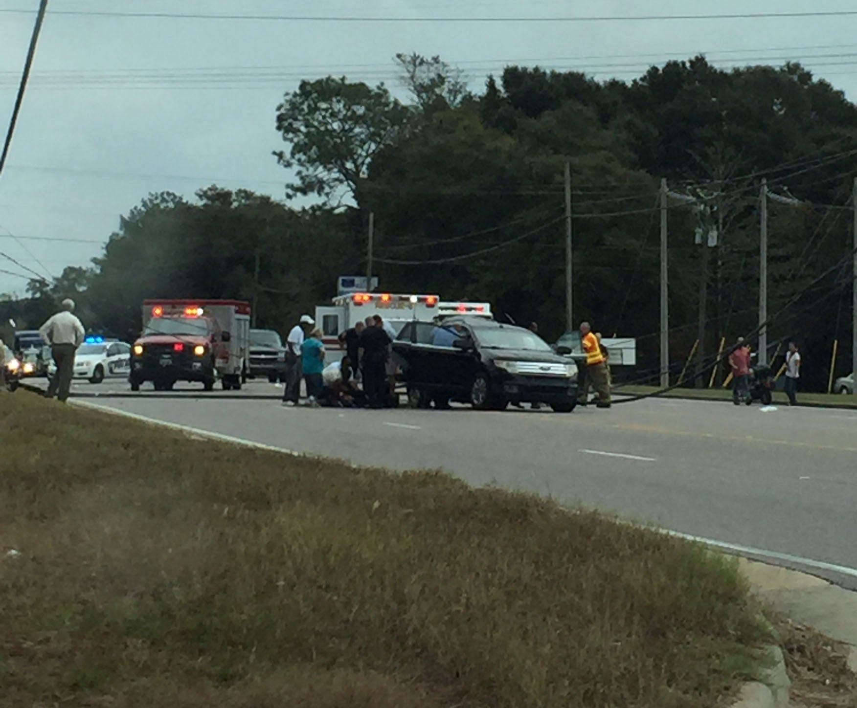 Alabama mobile county semmes - Fox10 News Viewer Shay Moulds Provides This Photo Of The Wreck On U S 98 That Claimed