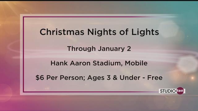 Preview Christmas Nights of Lights at Hank Aaron Stadium! - FOX10 ...