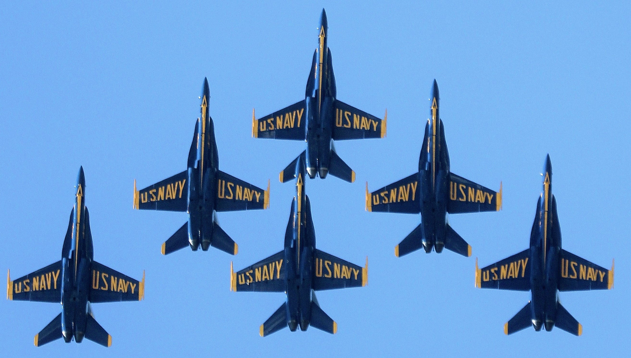 Blue Angels (Photo: U.S. Navy)