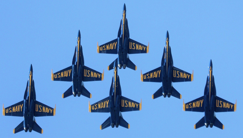 Blue Angels (Photo: U.S. Navy)