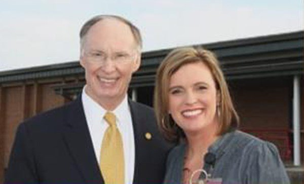 Alabama Gov. Robert Bentley and Rebekah Mason