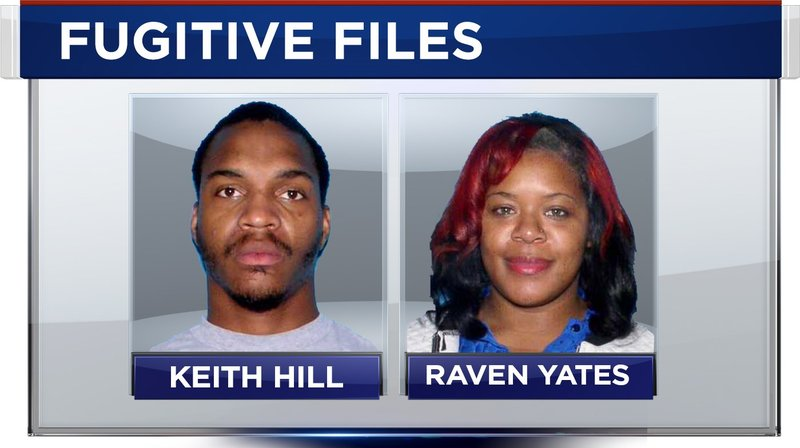 FOX10 News Fugitive Files suspects Keith Hill and Raven Yakes (Image: FOX10)