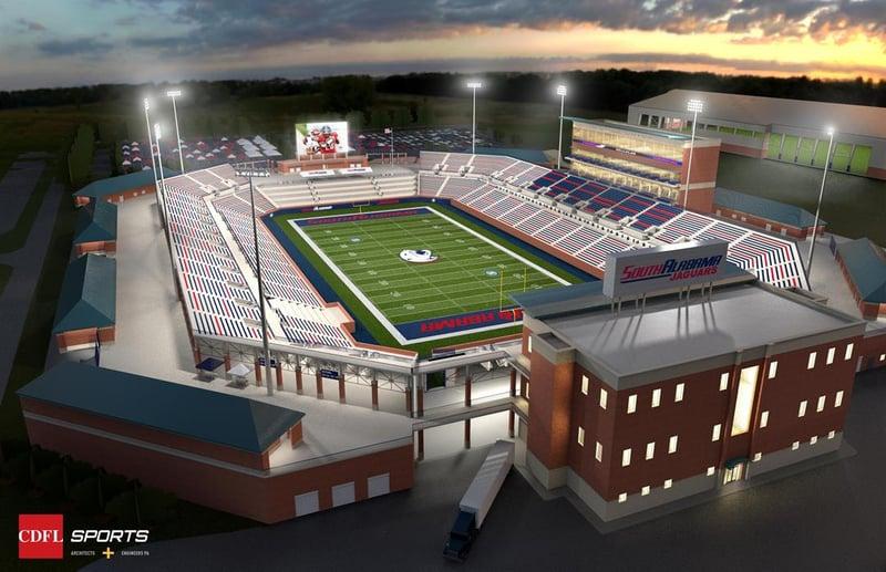USA Board of Trustees approves on-campus football stadium – FOX10 News