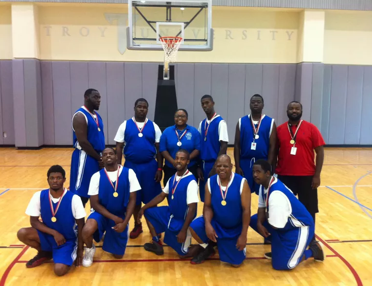 The Mobile Hurricanes, the City of Mobile Special Olympics basketball team, will represent Mobile and the State of Alabama in the 2018 Special Olympics USA Games in Seattle from June 30th through July 7th. Photo: FOX10 News Bri McNaught