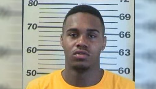 Angelo Massey Jr., 24, faces charges of attempting to elude police, reckless endangerment and warrants.
